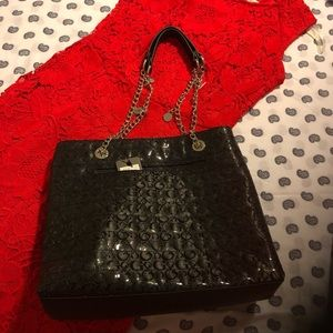 Black Guess Purse. Red dress NOT included.